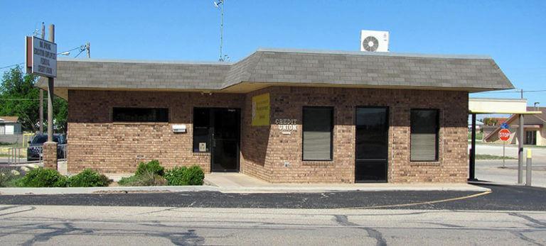 A photograph of BSTCU's branch office