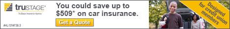 TruStage Automotive Insurance Banner