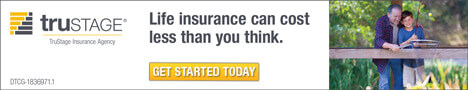 TruStage Life Insurance Banner